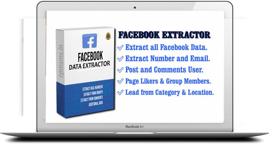 Facebook Data Extractor (Pixleads pro)